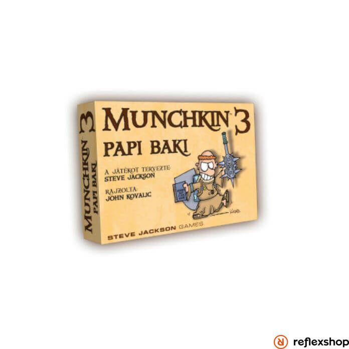 Munchkin 3 társasjáték - Papi Baki