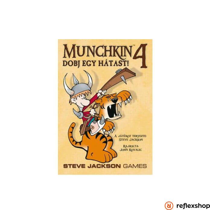 Munchkin 4 társasjáték- Dobj egy hátast!