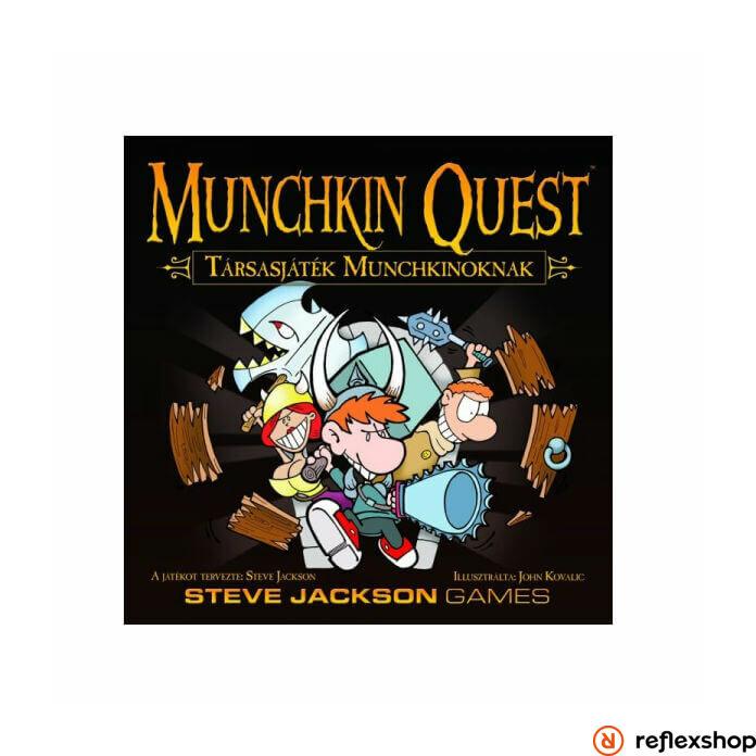 Munchkin Quest-társasjáték Munchkinoknak