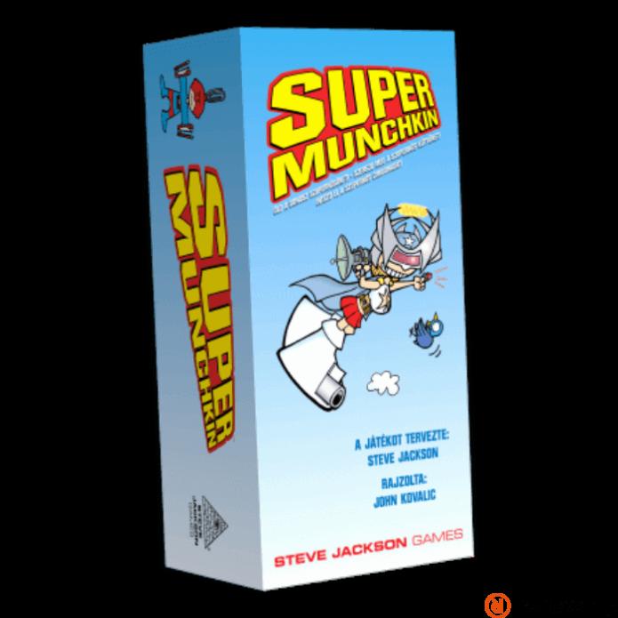 Super Munchkin társasjáték