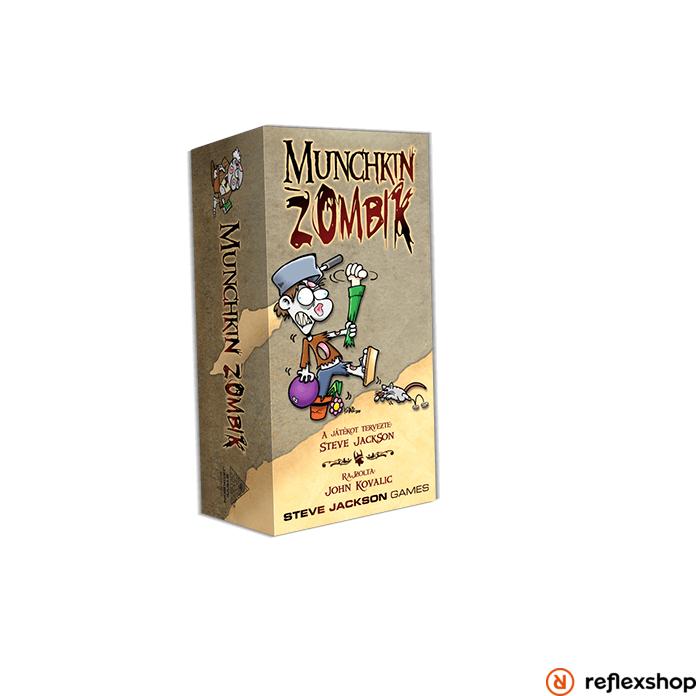 Munchkin - Zombik társasjáték