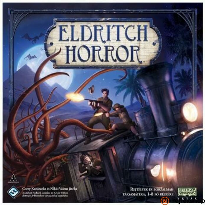 Delta Vision Eldritch Horror - magyar kiadás