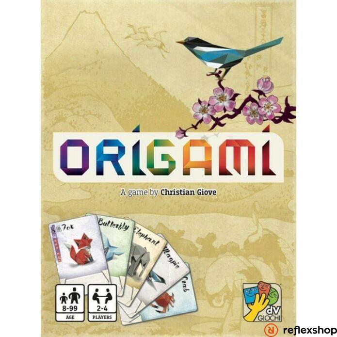 Origami társasjáték, angol nyelvű
