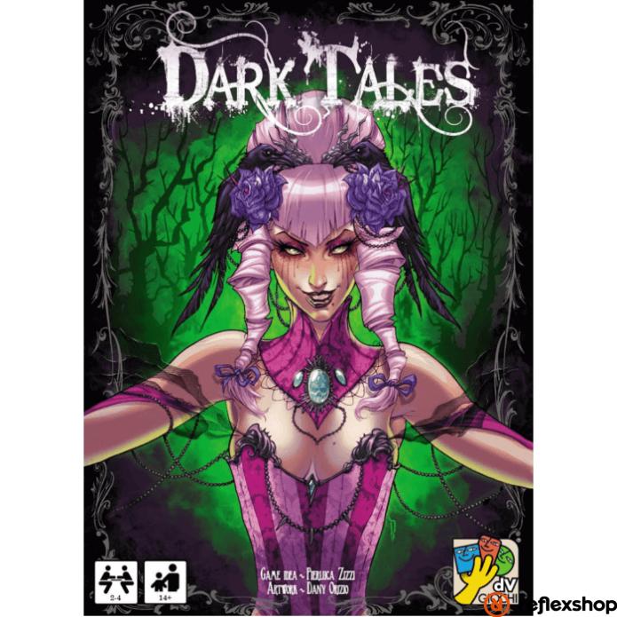 Dark Tales társasjáték, angol nyelvű