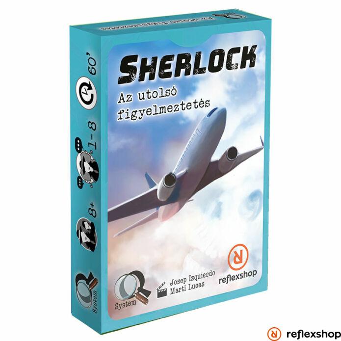 Sherlock : Last call magyar nyelvű társasjáték
