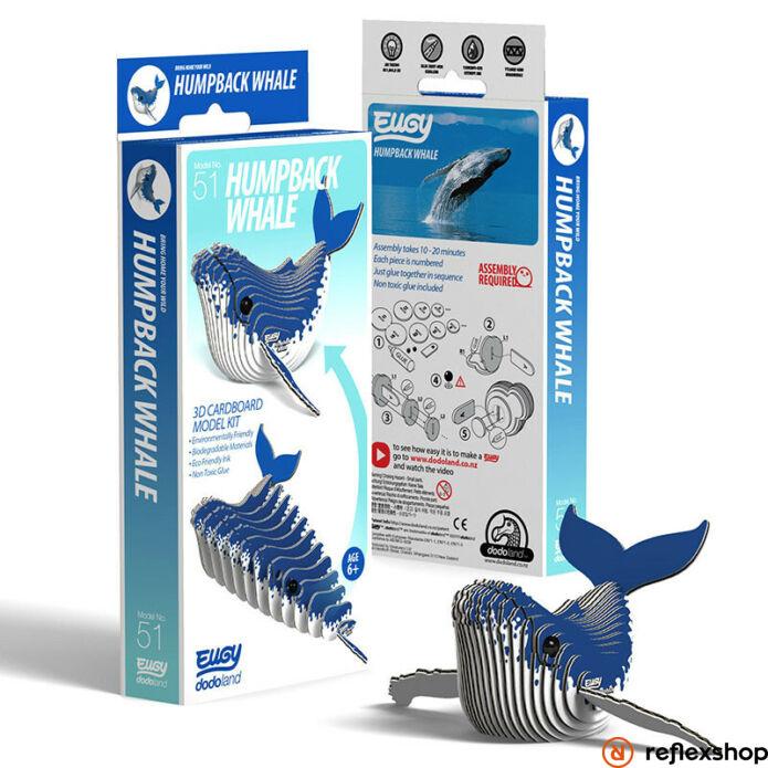 EUGY Púpos bálna 3D puzzle