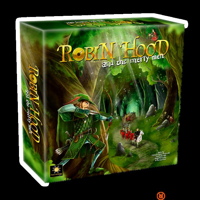 Robin Hood and the Merry Men angol nyelvű társasjáték