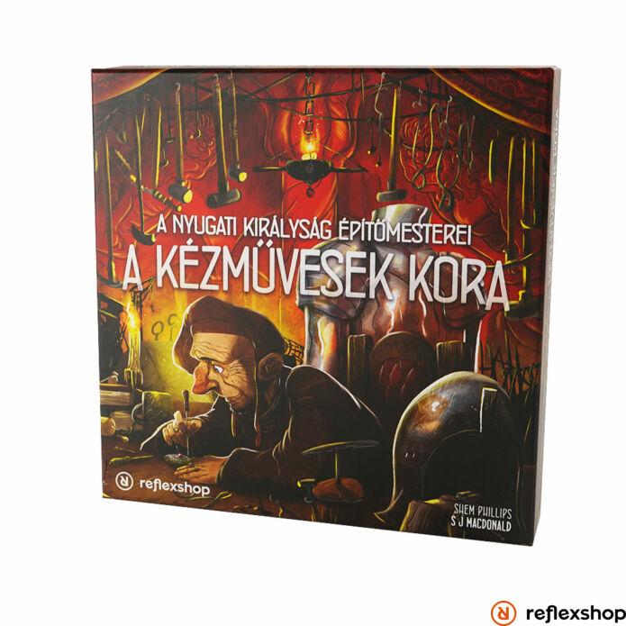 A Nyugati Királyság Építőmesterei: A kézművesek kora kiegészítő | Architects of the West Kingdom: Age of Artisans magyar kiadás