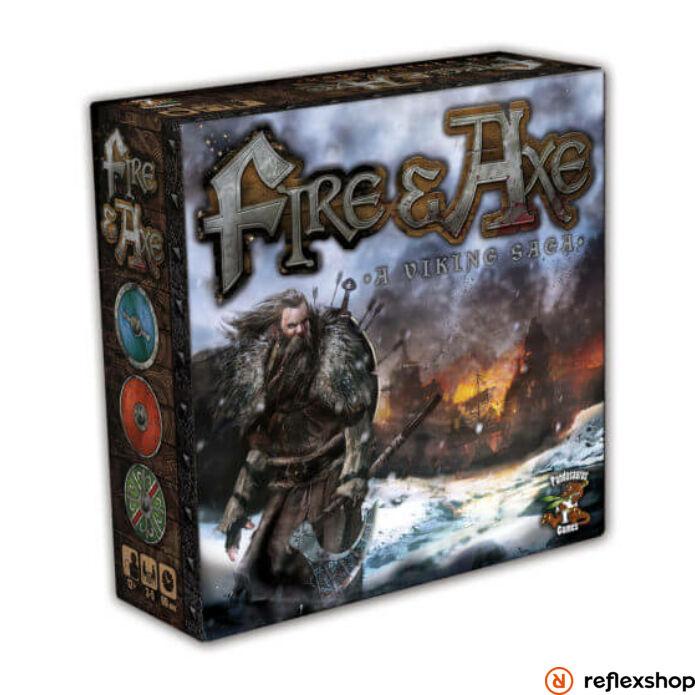 Fire & Axe: A Viking Saga angol nyelvű társasjáték