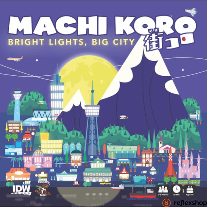 Machi Koro Bright Lights, Big City angol nyelvű társasjáték