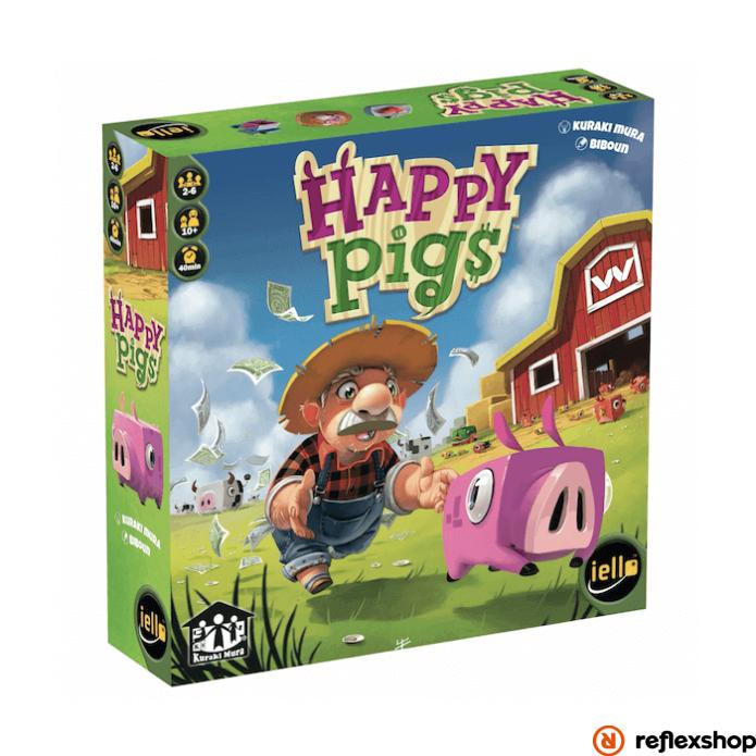 Iello Happy Pigs angol nyelv? társasjáték