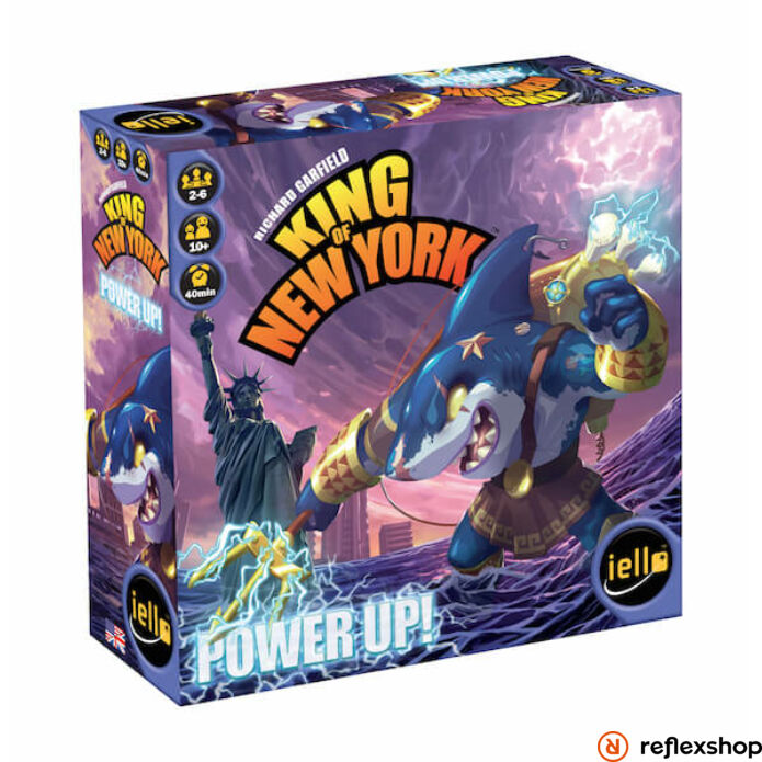 Iello King of New York: Power Up társasjáték, angol nyelvű