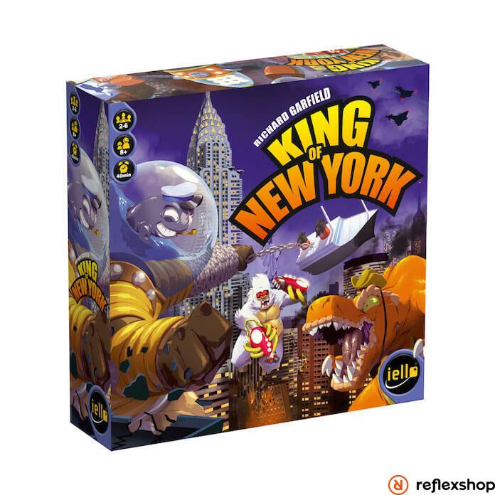 Iello King of New York társasjáték