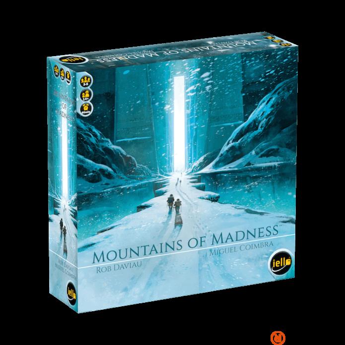 Iello Mountains of Madness angol nyelvű társasjáték
