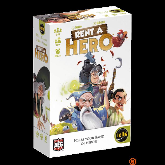 Iello RENT-A-HERO angol nyelv? társasjáték