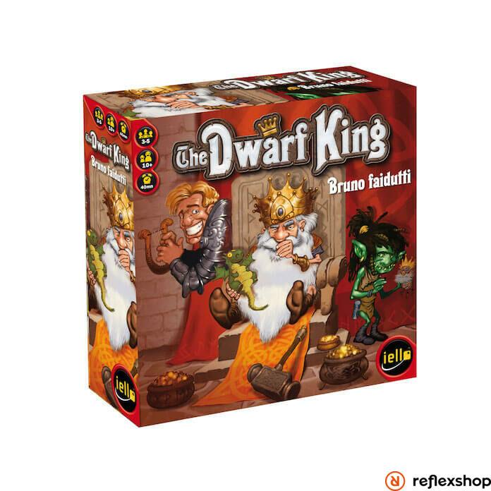 Iello The Dwarf King angol nyelv? társasjáték
