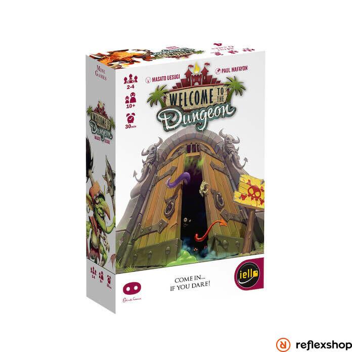 Iello Welcome to the Dungeon társasjáték, angol nyelvű
