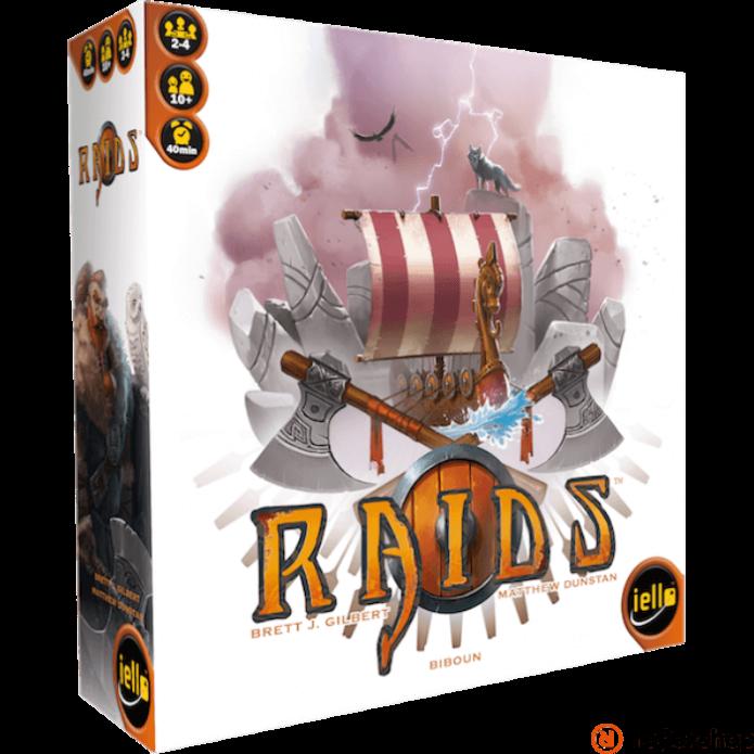 Iello Raids angol nyelvű társasjáték