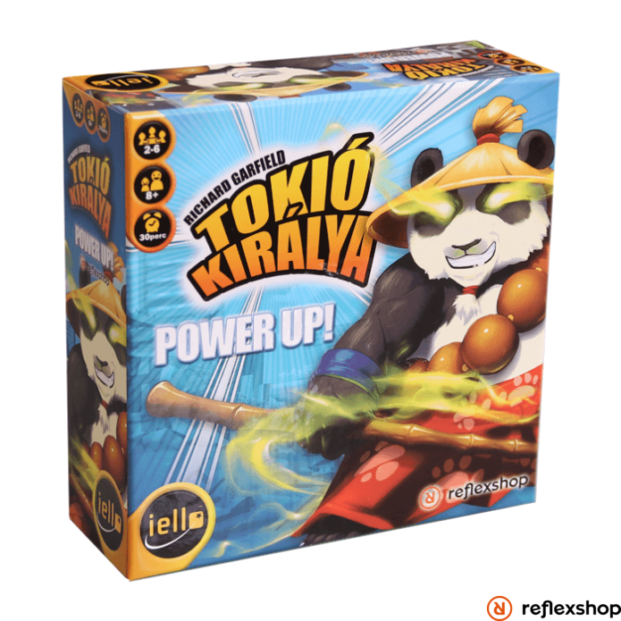 Iello Tokió királya: Power Up társasjáték