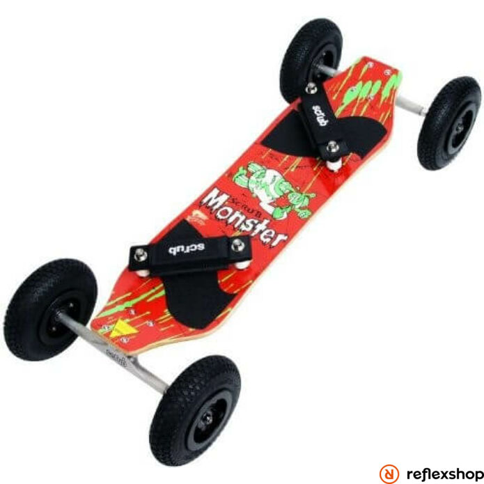 Scrub Monster Red mountainboard