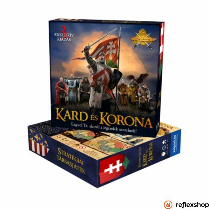 Kard és Korona társasjáték, 3. kiadás | Reflexshop