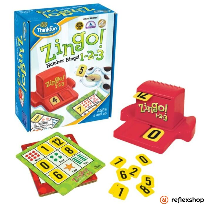 Thinkfun Zingo! 1-2-3 társasjáték