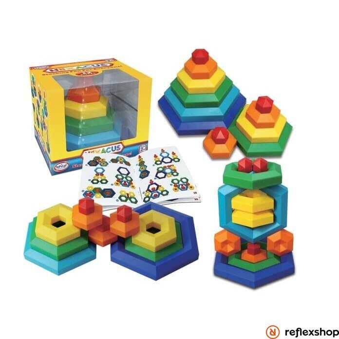 Popular Playthings Hexacus építő játék