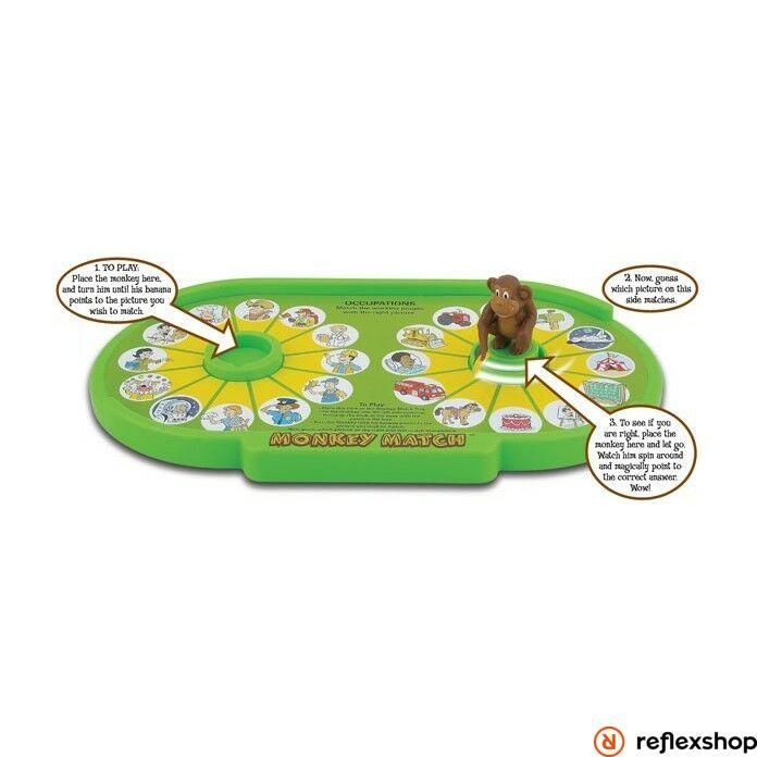 Popular Playthings Monkey Match fejleszt?játék