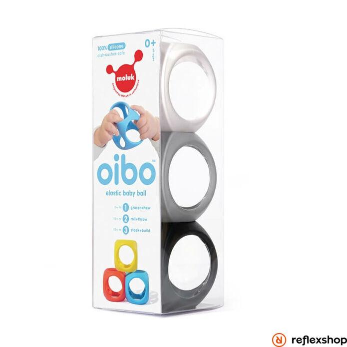 Oibo fejlesztő játék, 3db-os szett, monokróm