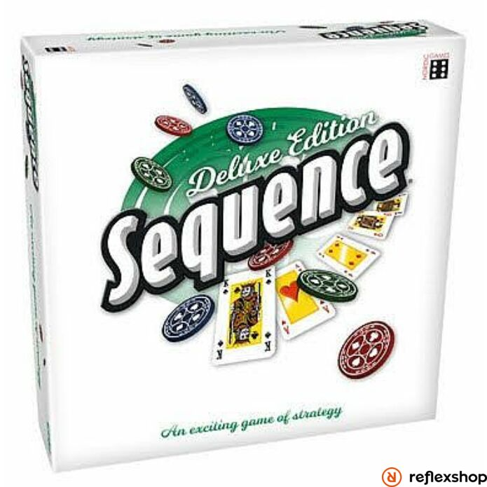 Sequence Deluxe angol nyelvű társasjáték