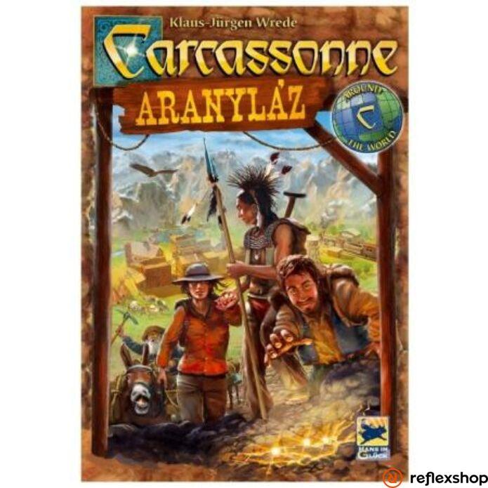 Carcassone Aranyláz társasjáték