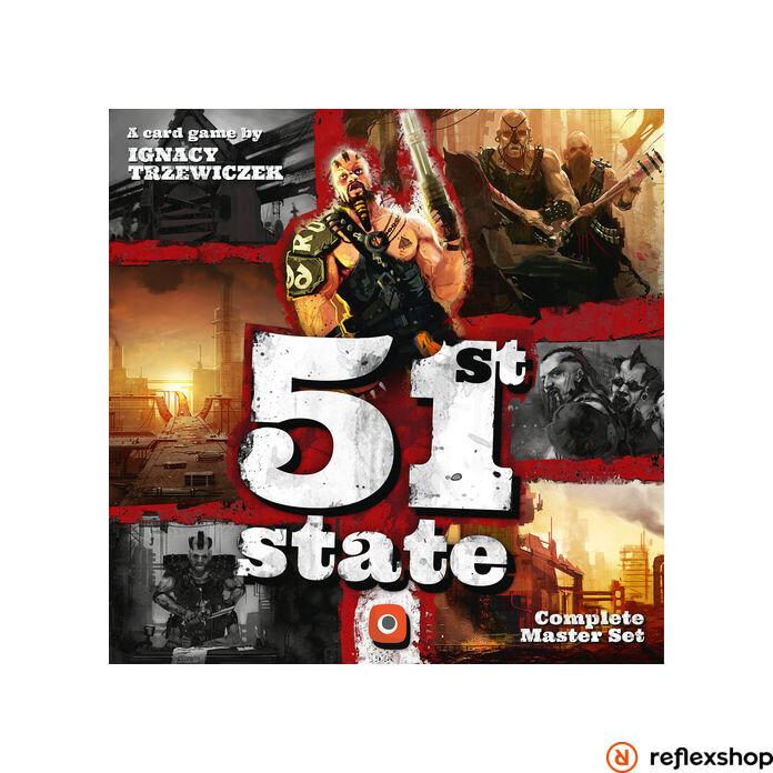 51st State Master Set társasjáték, angol nyelvű