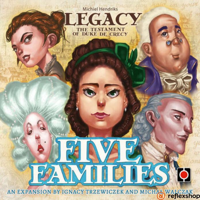 Legacy Five Families angol nyelvű kiegészítő