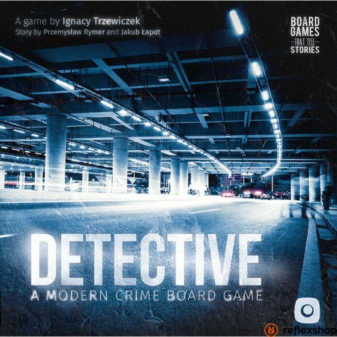 Detective A Modern Crime Game társasjáték, angol nyelvű