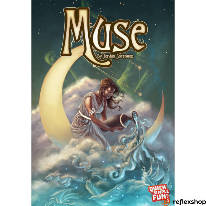 Muse angol nyelvű társasjáték