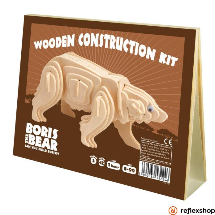 Boris Medve Professor Puzzle fa épít? szett