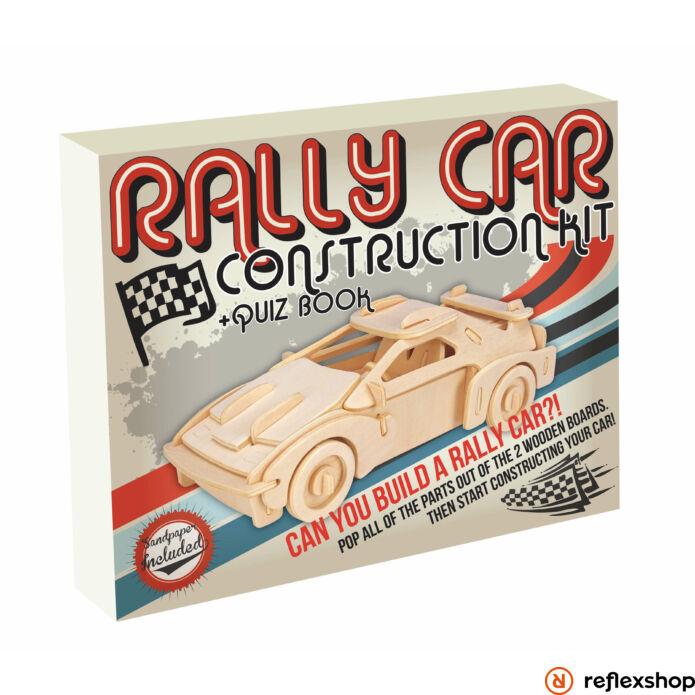 Rally autó Professor Puzzle fa épít? szett