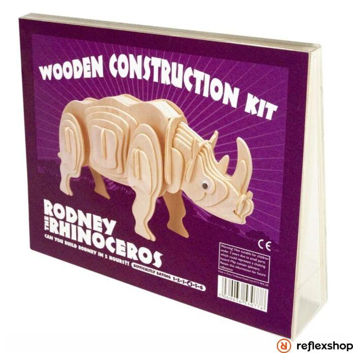 Rodney Rinocérosz Professor Puzzle fa épít? szett