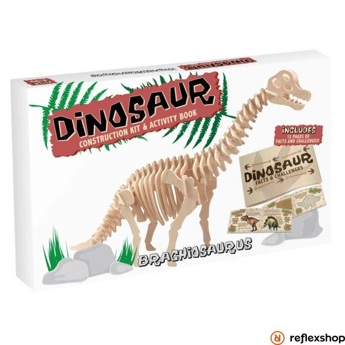 Brachiosaurus Professor Puzzle fa épít? szett nagy