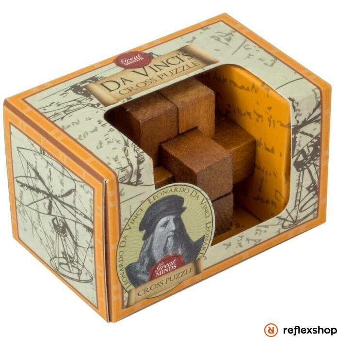 Nagy Elmék - Da Vinci Kereszt mini Professor Puzzle ördöglakat