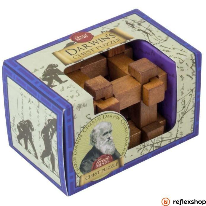 Nagy Elmék - Darwin Láda Professor Puzzle mini ördöglakat