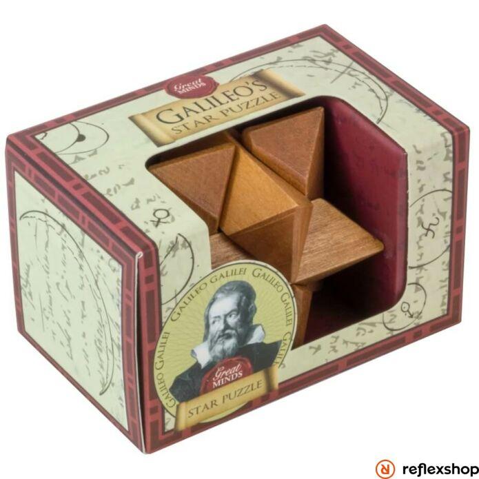 Nagy Elmék - Galileo Csillag mini Professor Puzzle ördöglakat