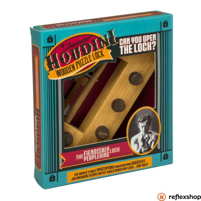 Houdini The Fiendishly Perplexing Professor Puzzle ördöglakat