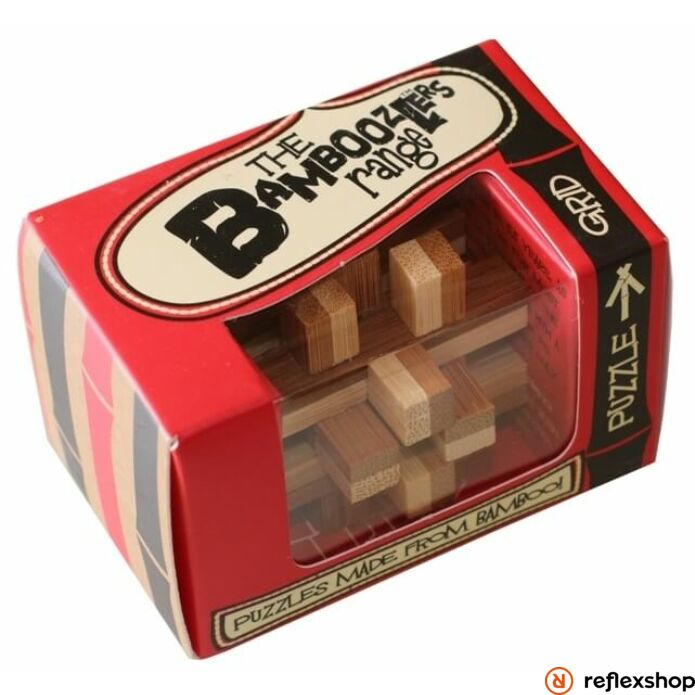 Grid mini Professor Puzzle bambusz ördöglakat