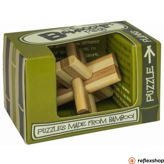 Planks mini Professor Puzzle bambusz ördöglakat