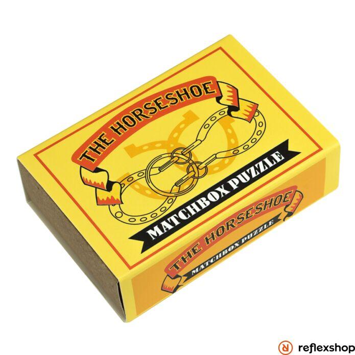 The Horseshoe Matchbox Professor Puzzle ördöglakat