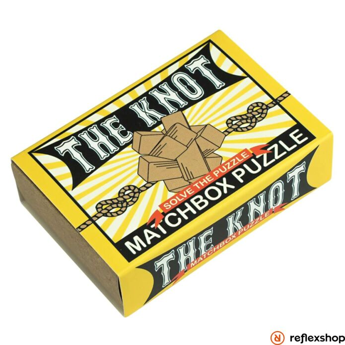 The Knot Matchbox Professor Puzzle ördöglakat