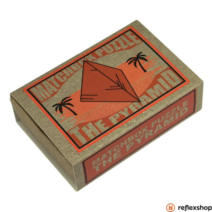 The Pyramid Matchbox Professor Puzzle ördöglakat