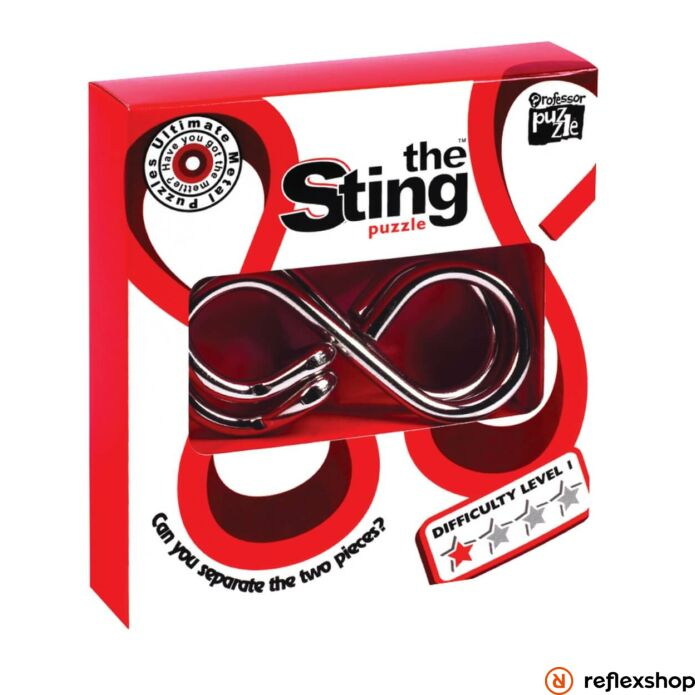 The Sting fém Professor Puzzle ördöglakat