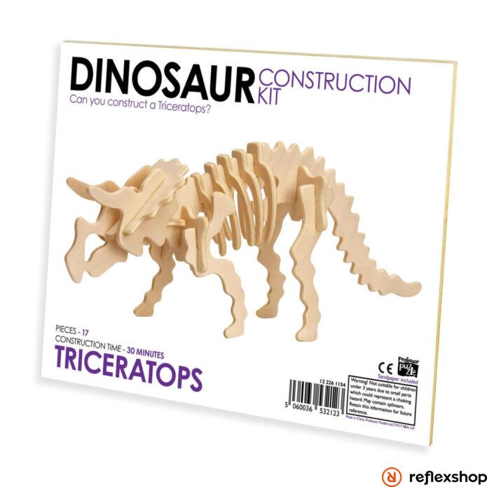 Triceratops fa épít? szett standard